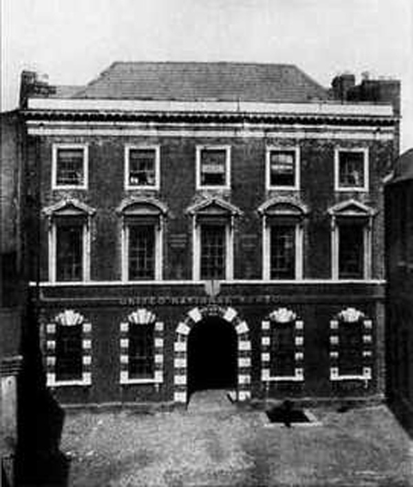 1733 – The Deanery House, Fishamble Street, Dublin