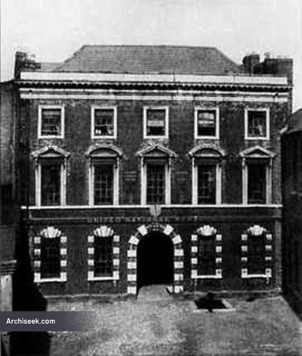 1733 – The Deanery House, Fishamble Street, Dublin