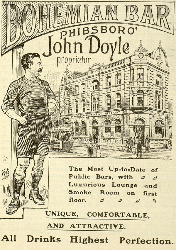 1907 – Bohemian Bar, Doyle's Corner, Phibsborough, Dublin