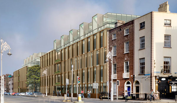 2010 – Competition design for ESB Headquarters, Fitzwilliam St., Dublin