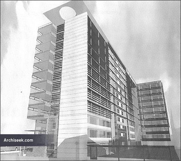 2002 – Unbuilt Proposal for Hawkins House, Dublin