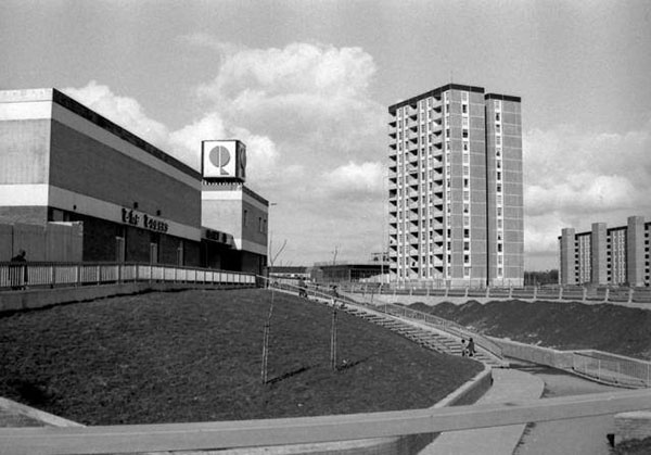 1966 – Ballymun Towers, Dublin