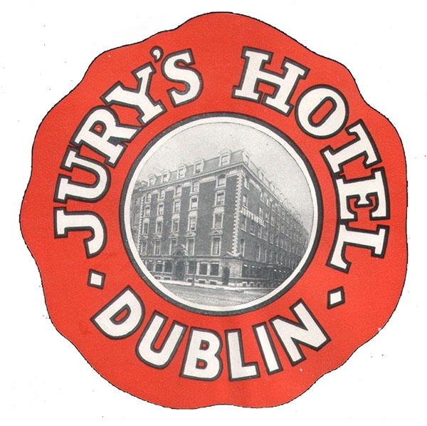 1850s – Jurys Commercial & Family Hotel, College Green, Dublin