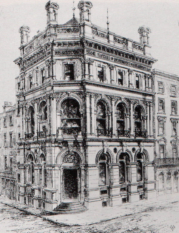 1869 – Royal Insurance, Dame St., Dublin