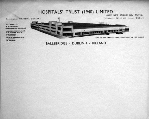 1938 – Irish Sweepstakes Building, Ballsbridge, Co. Dublin