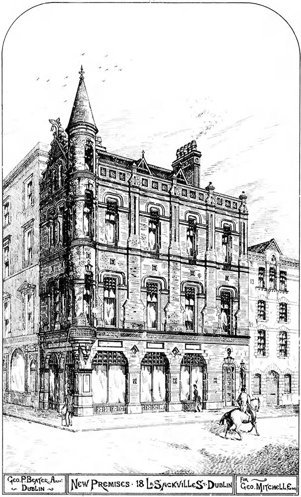 1886 – No.18 Lower O'Connell Street, Dublin