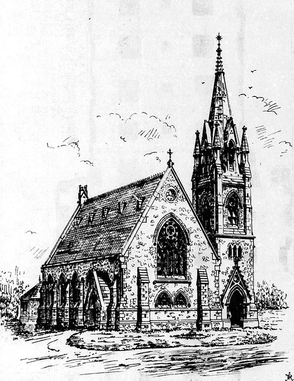 1868 – St. Paul's Church of Ireland, Glenageary, Co. Dublin