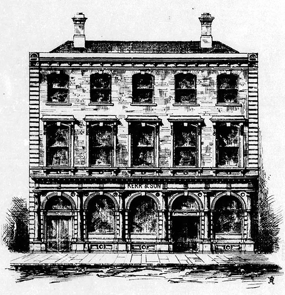 1871 – Kerr & Sons, Nos. 114-115 Capel Street, Dublin