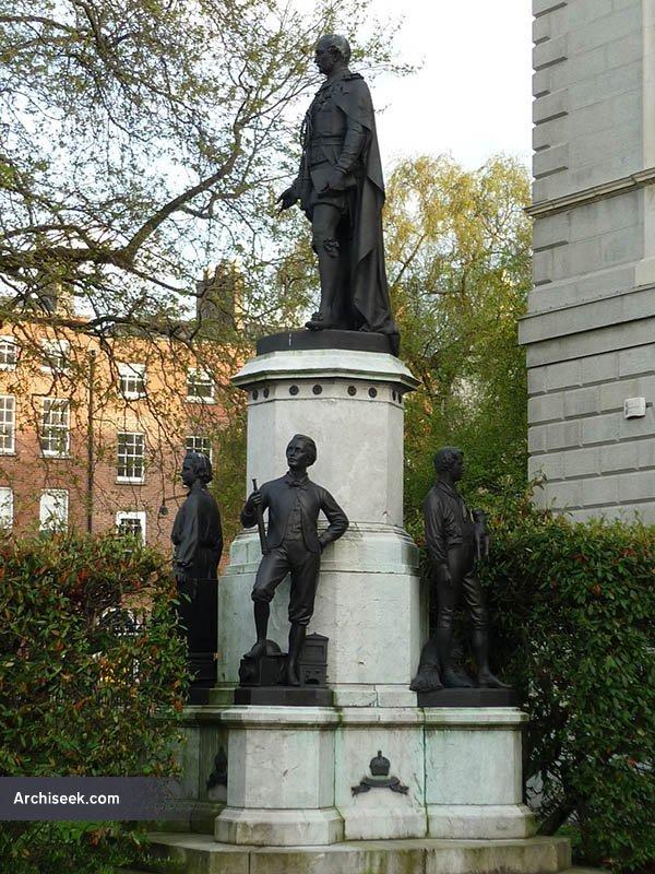 1868 – Prince Albert Statue, Leinster House, Dublin