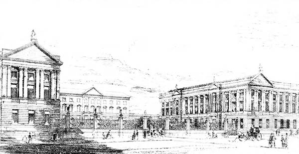 1883 – Design for National Museum, Dublin