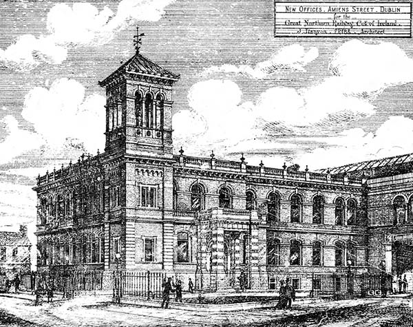 1879 – Great Northern Railway Offices, Amiens Street, Dublin