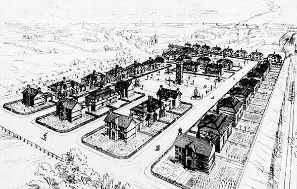 1878 – Design proposals for Great Western Square, Dublin