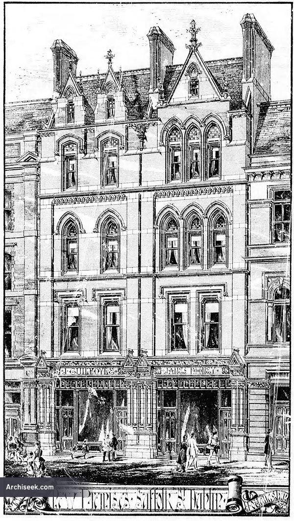 1889 – Nos. 16-17 Suffolk Street, Dublin