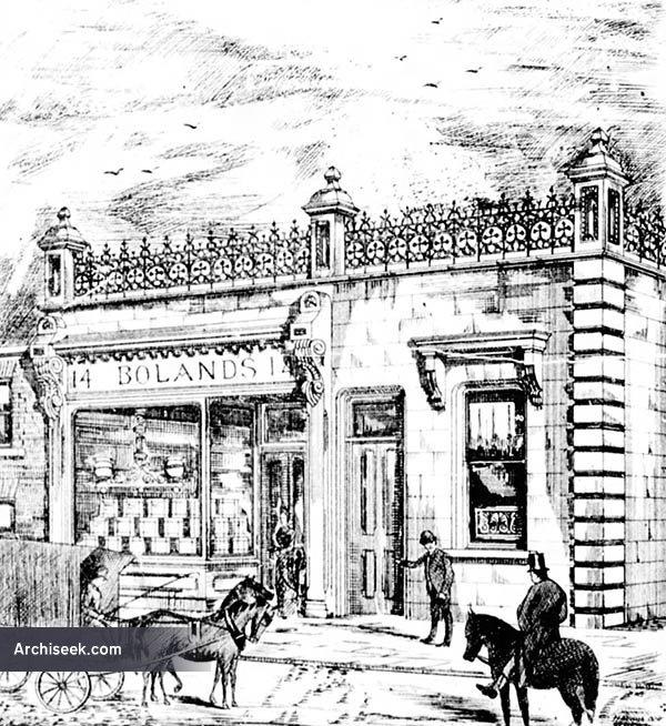 1880 – Boland's Bakery, 14 Cumberland St., Dun Laoghaire, Co. Dublin