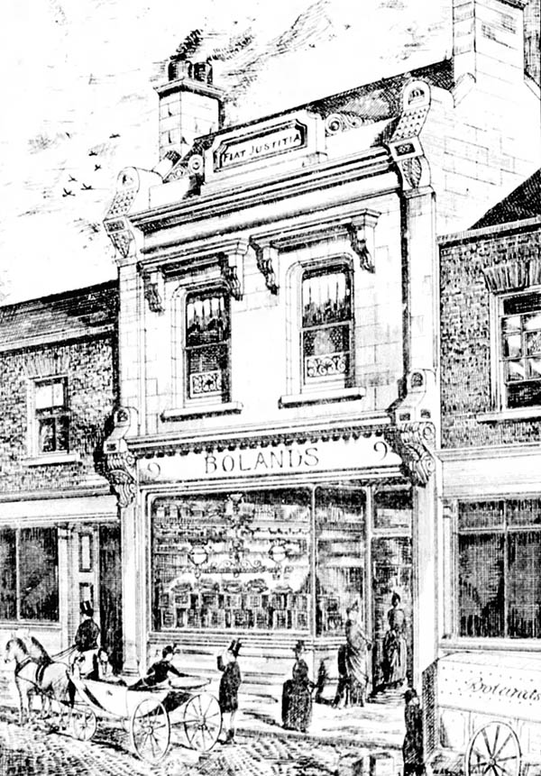 1880s – Boland's Bakery, 9 Georges St., Dun Laoghaire, Co. Dublin