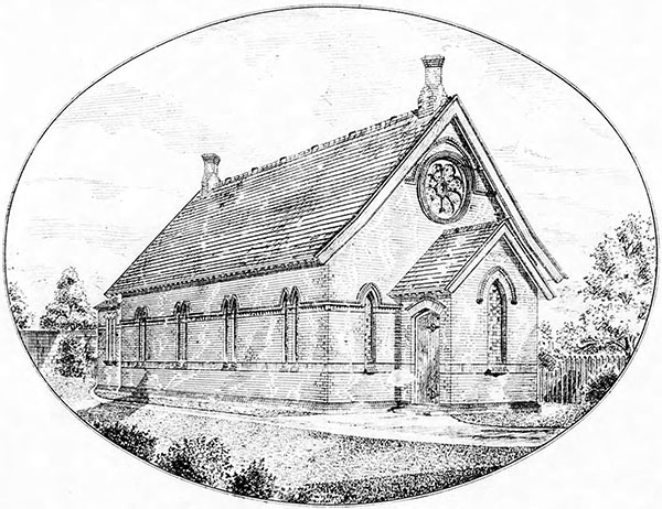 1886 – Methodist Chapel, Inchicore, Dublin