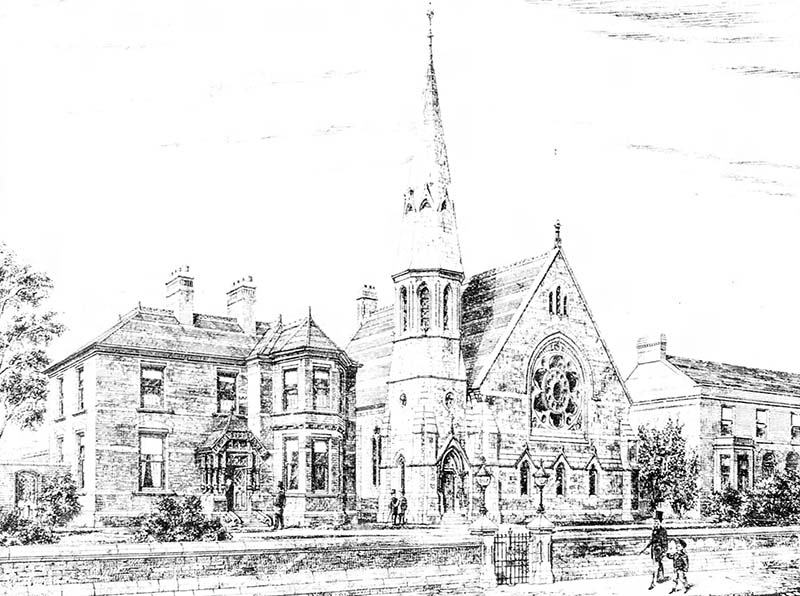 1881 – Donore Presbyterian Church, South Circular Road, Dublin