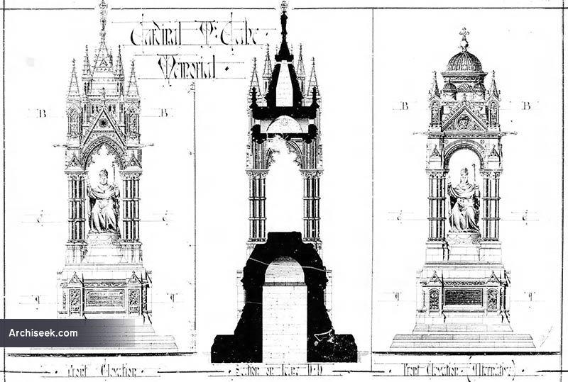 1886 – Design for Cardinal MacCabe Memorial, Glasnevin, Dublin