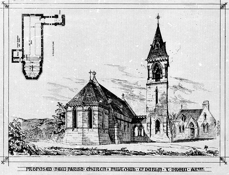 1867 – St. Philip Church of Ireland, Milltown, Co. Dublin