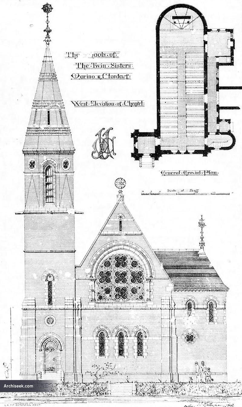 1883 – Chapel, Schools of the Twin Sisters, Marino, Clontarf, Dublin