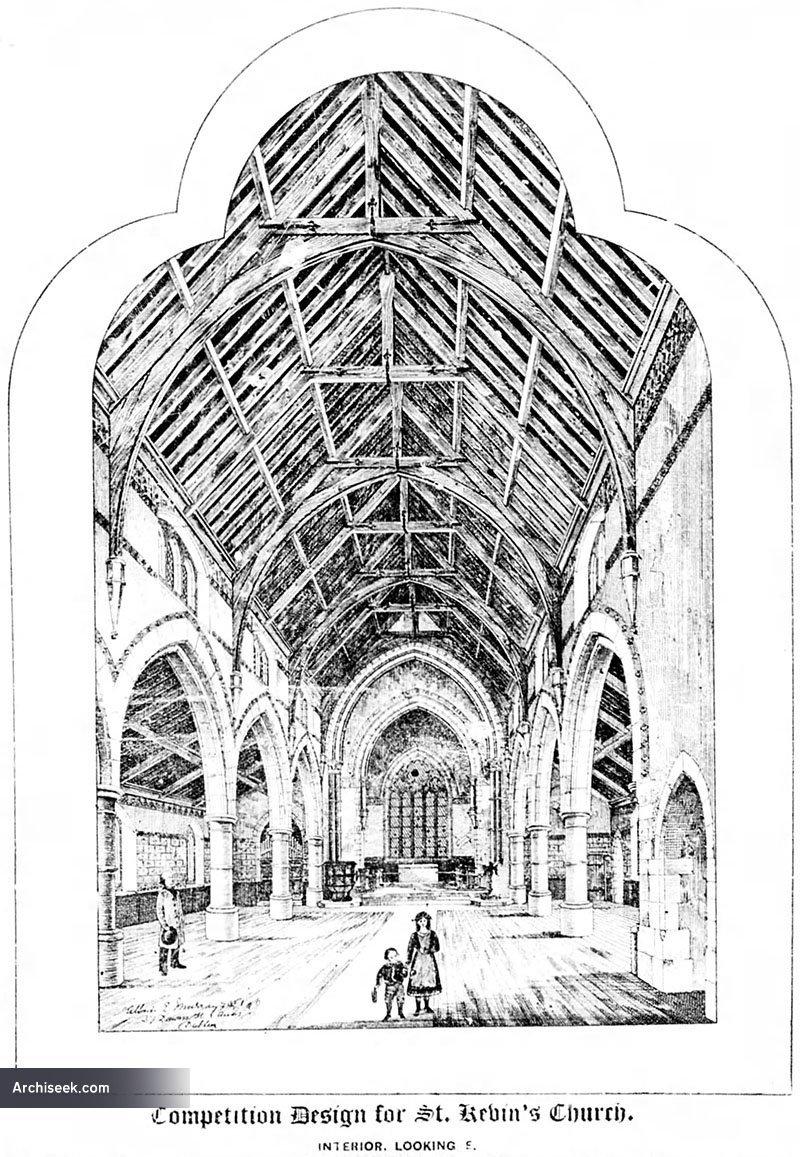 1886 – Unbuilt Design for St. Kevins, South Circular Road, Dublin