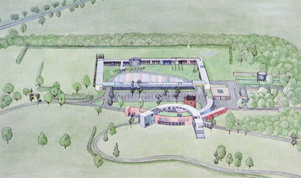 1979 – Design for Taoiseach's Residence, Dublin