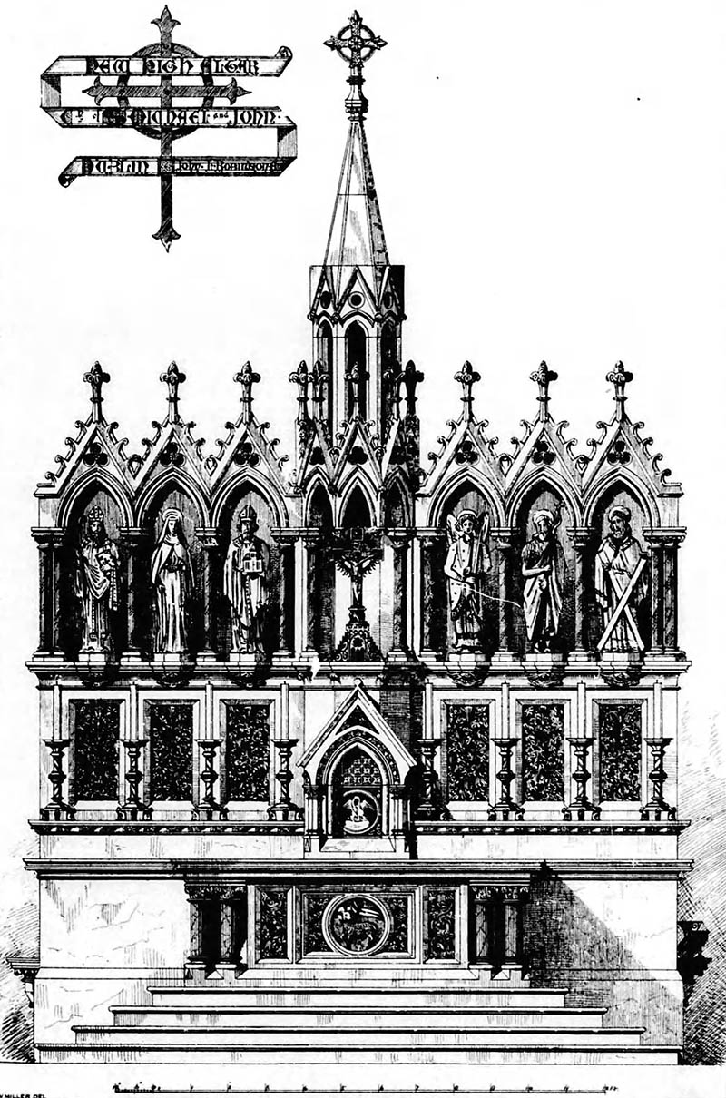 1878 – High Altar, SS. Michael & John's Church, Dublin