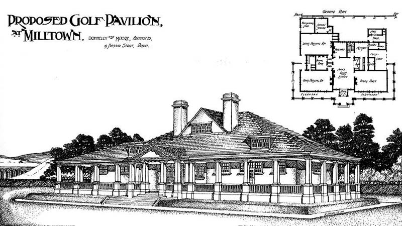 1907 – Golf Club Pavilion, Milltown, Co. Dublin