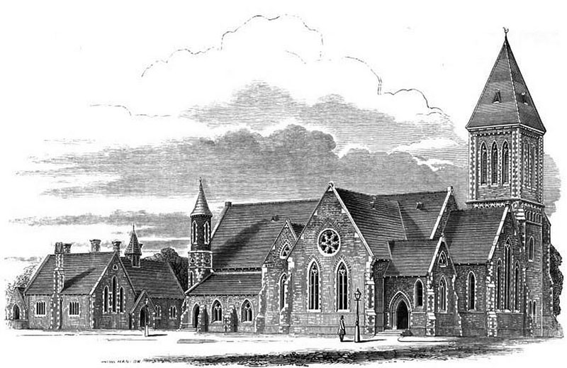 1861 – Zion Church & School, Rathgar, Co. Dublin