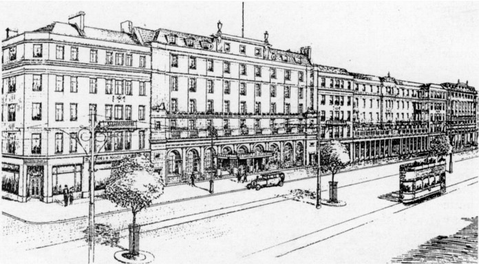 1923 – Proposed Reconstruction of Upper O'Connell Street, Dublin