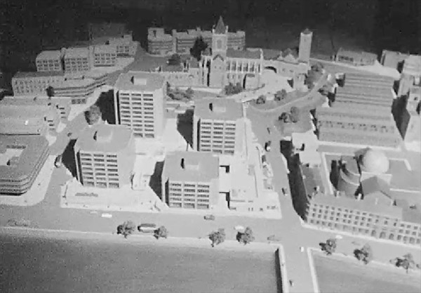 1968 – Alternate designs for Wood Quay, Dublin