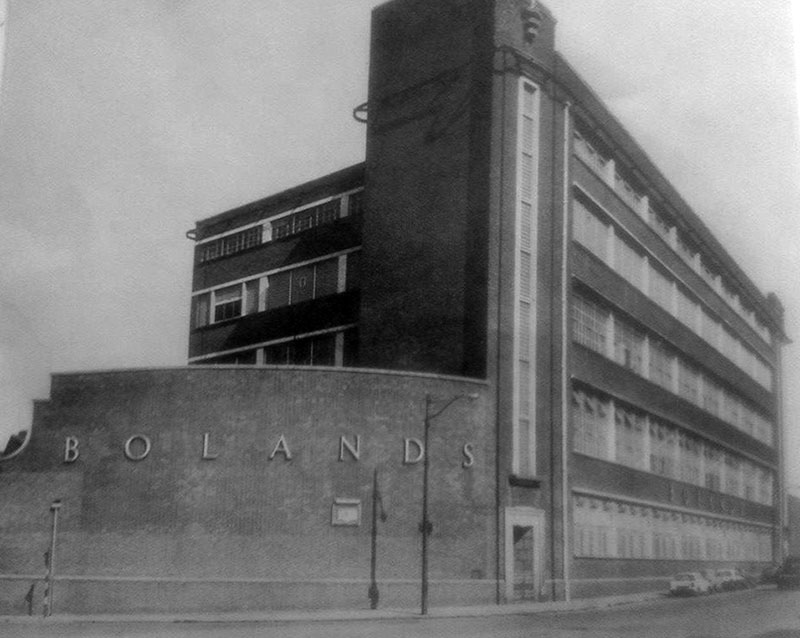 1951 – Boland's Biscuit Mills, Grand Canal Street, Dublin