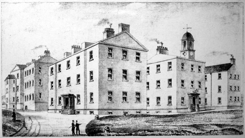 1804 – Fever Hospital & House of Recovery, Cork St., Dublin