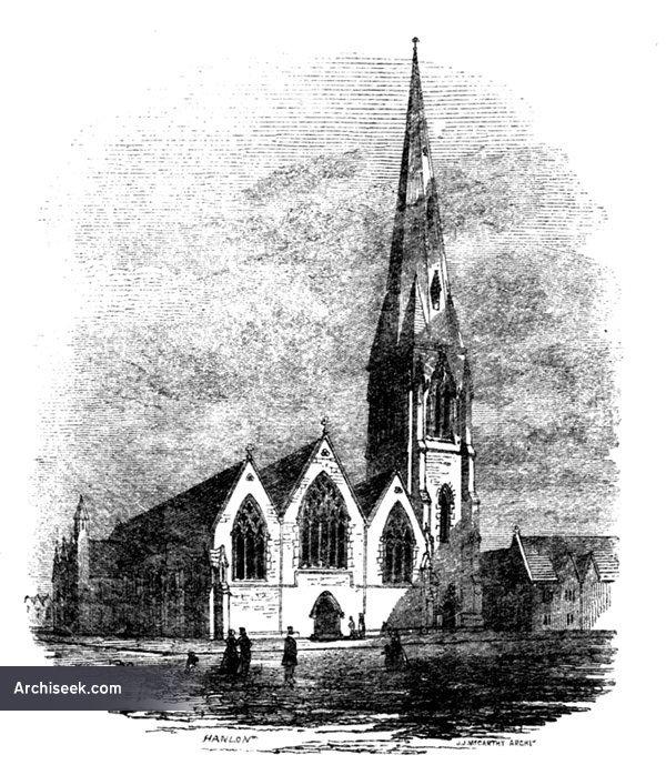 1851 – Unbuilt Church of Our Lady, Star of the Sea, Sandymount, Dublin