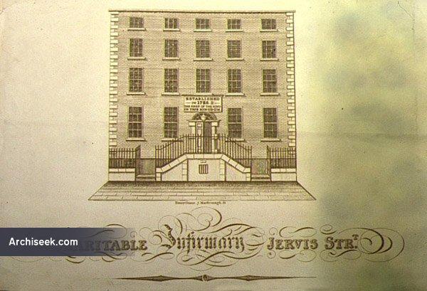 1804 – Charitable Infirmary, 14  Jervis St., Dublin