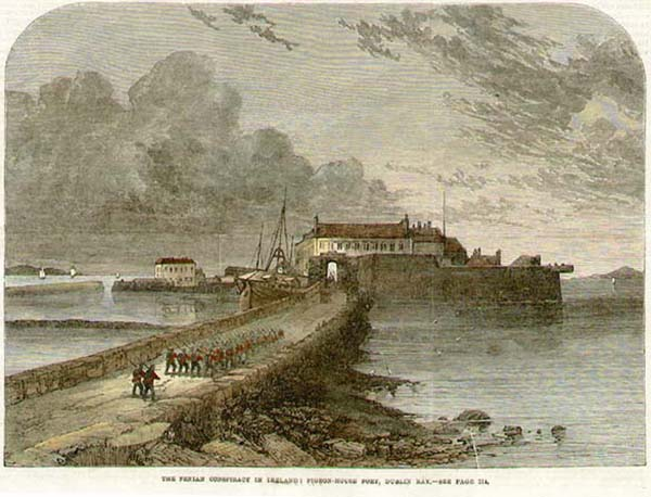 1814 – Pigeon-House Fort, Dublin