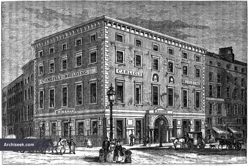 1800 – Carlisle Building, Burgh Quay, Dublin