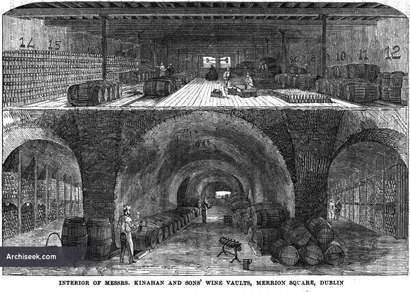 1820s – Kinahan & Sons Wine Vaults, Hamilton Row, Dublin