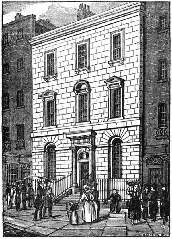 1760s – Royal Irish Academy, No.107 Grafton Street, Dublin