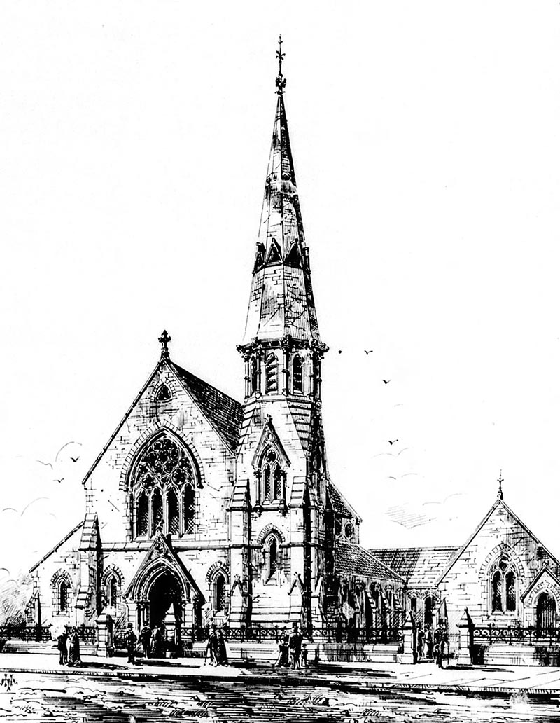 1867 – United Presbyterian Church, Abbey Street, Dublin