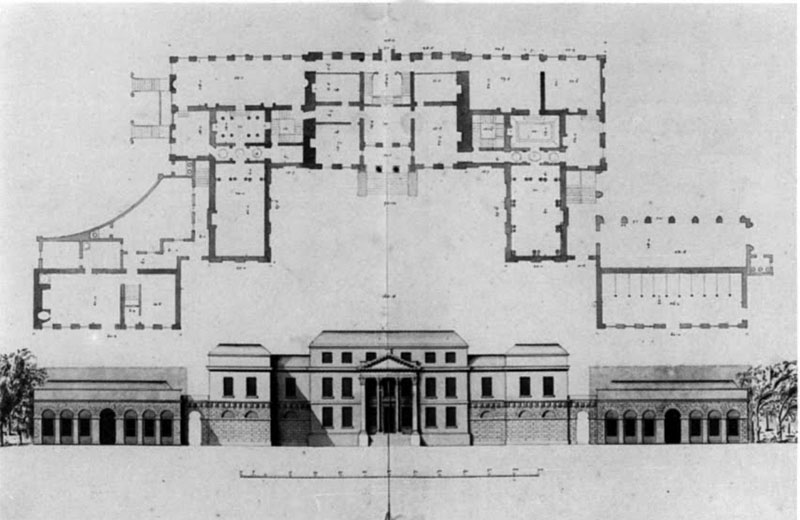 1730s – Design for Stillorgan House, Co. Dublin
