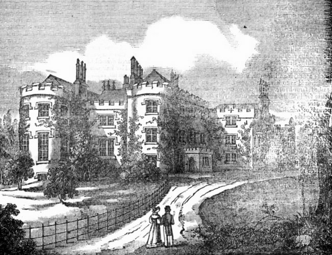1820 – Rathmines Castle, Rathmines, Dublin