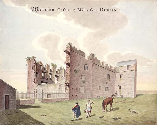 14th C. – Merrion Castle, Co. Dublin