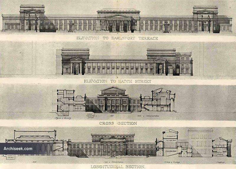 1912 – Second Premiated Design for University College Dublin