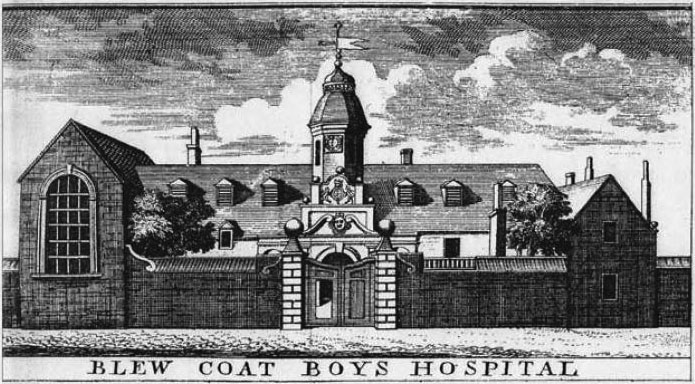 1673 – Blue Coat School, Dublin