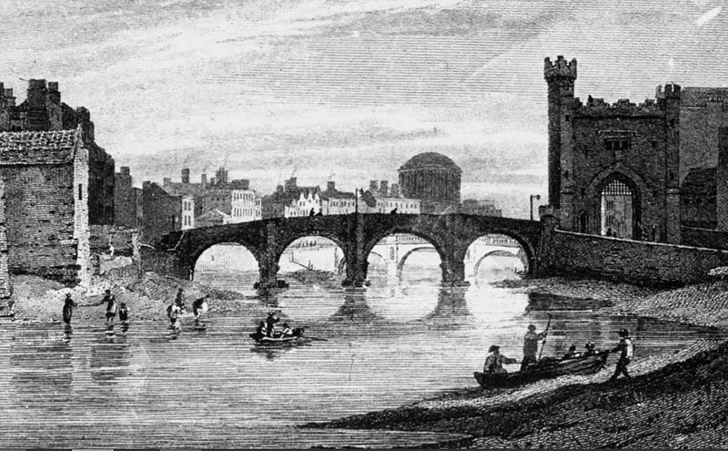 1690s – Barrack Bridge, Dublin