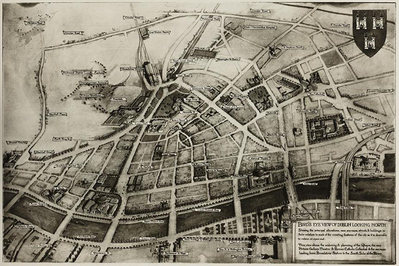 1914 – C.R. Ashbee's plans for Dublin