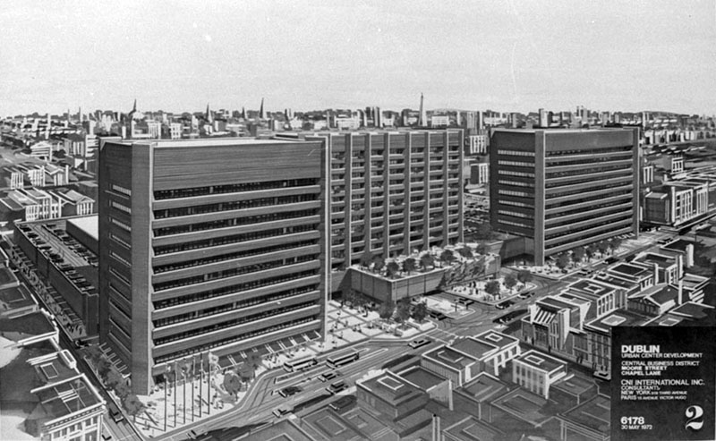 1972 – Moore & Parnell Street Proposal, Dublin