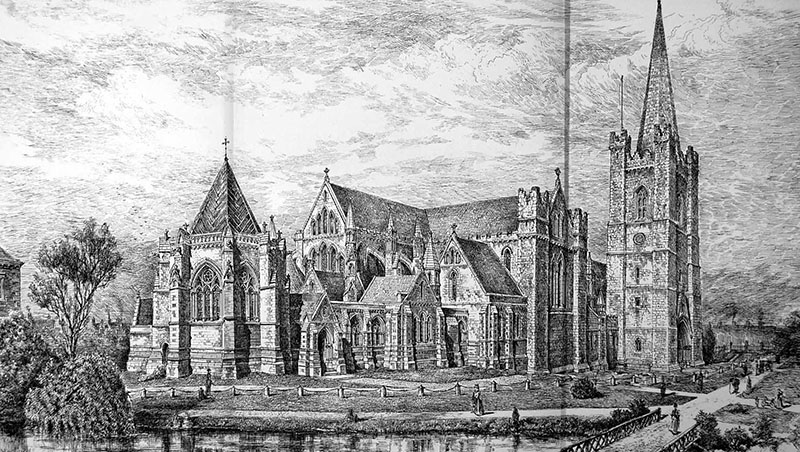 1898 – Proposed Additions to St. Patrick's Cathedral, Dublin
