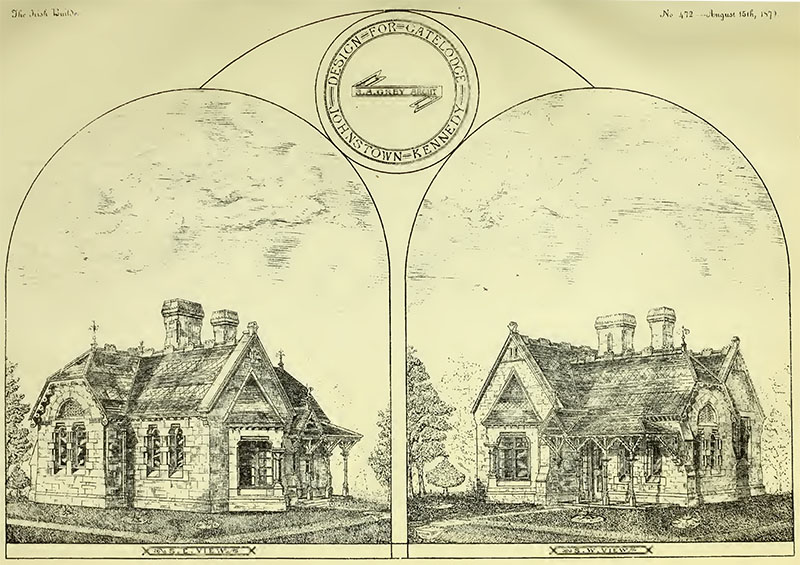 1879 – Entrance Lodge, Johnston-Kennedy, Rathcoole, Co. Dublin